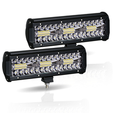 """Barra de luz Led de obra 180W 10 """"Offroad 4X4 12V luces Led de conducción para camiones barco motocicleta tractor LED Combo SUV ATV Luz"""