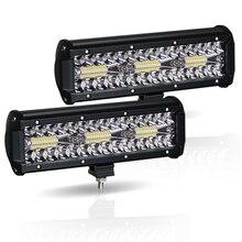 "Led עבודה אור בר 180W 10 ""Offroad 4X4 12V נהיגה אור Led אורות עבור משאיות סירת אופנוע טרקטור LED משולבת SUV טרקטורונים אור"