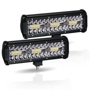 "Image 1 - Led Verlichting Bar 180W 10 ""Offroad 4X4 12V Rijden Licht Led Verlichting Voor Vrachtwagens Boot Motorfiets tractor Led Combo Suv Atv Licht"
