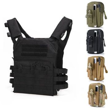 Tactical Vest Body Armor JPC MOLLE Hunting Equipment Vest Outdoor Airsoft Paintball CS Game Plate Carrier with Belt Mag Pouch military army combat jpc plate carrier molle vest tactical outdoor hunting shooting men airsoft paintball protective body armor