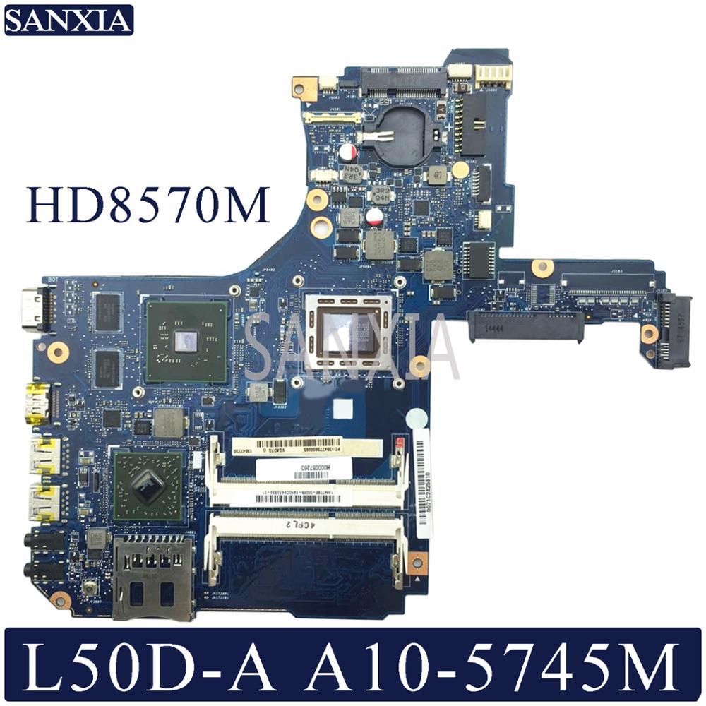 Placa base para portátil KEFU H000057260 para Toshiba Satellite L50D-A placa base original A10-5745M HD8570M