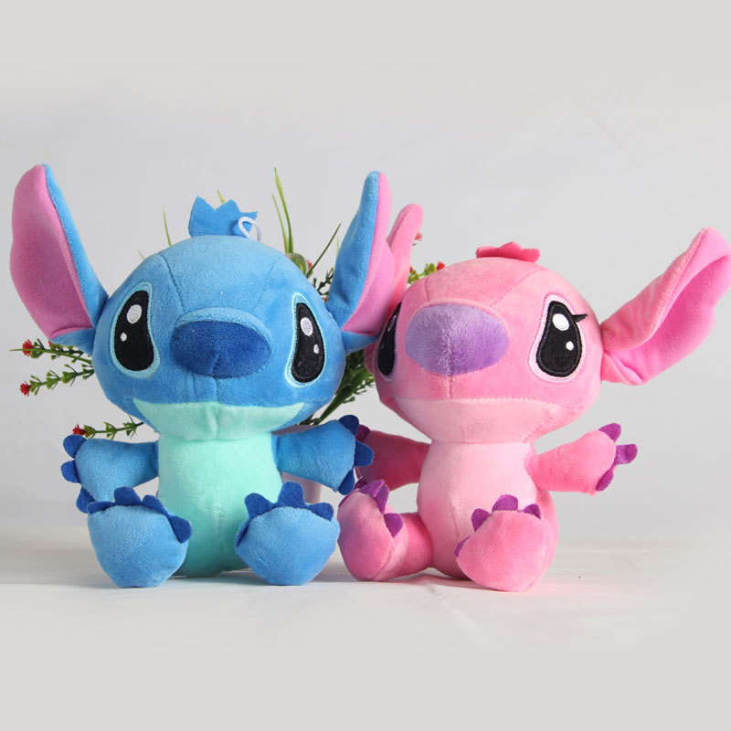 1pcs 20cm Cute Lilo And Stitch Plush Toys Doll Kawaii Anime StitchPlush Pendant Soft Stuffed Toys Doll Gifts For Children Kids