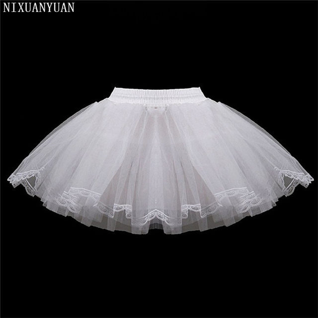 Petticoat-Children-3-Layers-Hoopless-Short-Petticoats-Flower-Girl-Dress-Crinoline-for-Wedding-Little-Girls-Kids