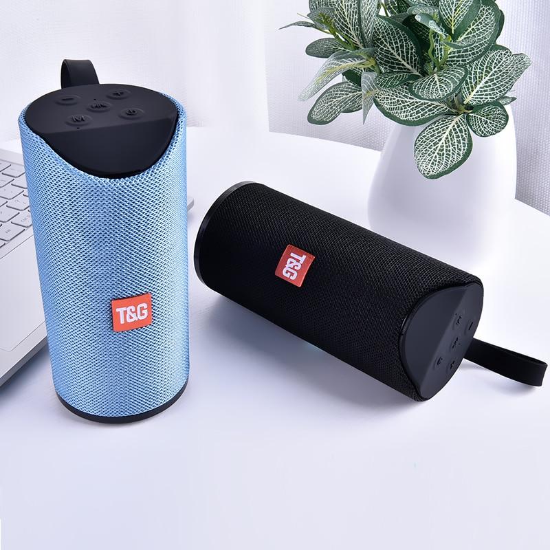 TG Bluetooth Speaker Portable Outdoor Loudspeaker Wireless Mini Column 3D 10W Stereo Boombox Surround Support FM TFCard Bass Box
