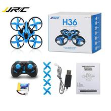 Drone JJRC Rc Helicopter Micro-Quadcopters H36 One-Key-Return Mode Mini with Headless