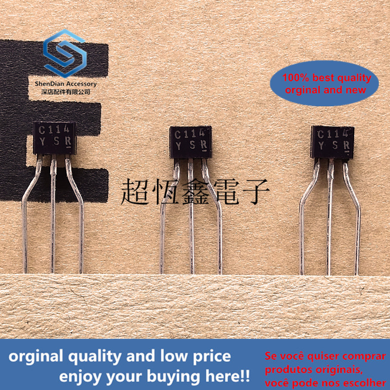 10pcs 100% Orginal New Best Qualtiy DTC114YSA C114YS C114 Digital Transistors (built-in Resistors)