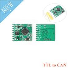 Módulo convertidor de serie de transmisión transparente, TTL, a CAN, ModBus, CAN, 3,3 V/5V