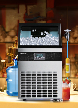 цена на 68KG Ice Maker commercial cube ice machine automatic /home ice machine / for bar / coffee shop / tea shop