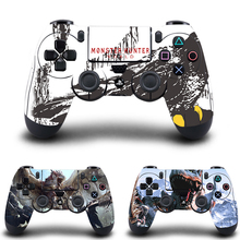 Monster Hunter PS4 Controller Skin Sticker Vinyl Decal for Sony PlayStation 4 DualShock 4 Wireless Controller