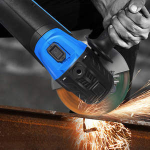 Cordless Angle Grinder 20V Lithium-Ion 4000mAh Battery Machine Cutting Electric Angle Grinder Grinding Power Tool By PROSTORMER(China)