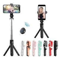Selfie Stick con supporto per treppiede telecomando Bluetooth supporto per Selfie Stick per IPhone/Huawei SmartPhone Live Photo