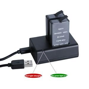 Image 3 - Für GoPro MAX Schnelle Lade USB Batterie Dual Ladegerät Halter Für GoPro MAX Action Kamera Zubehör