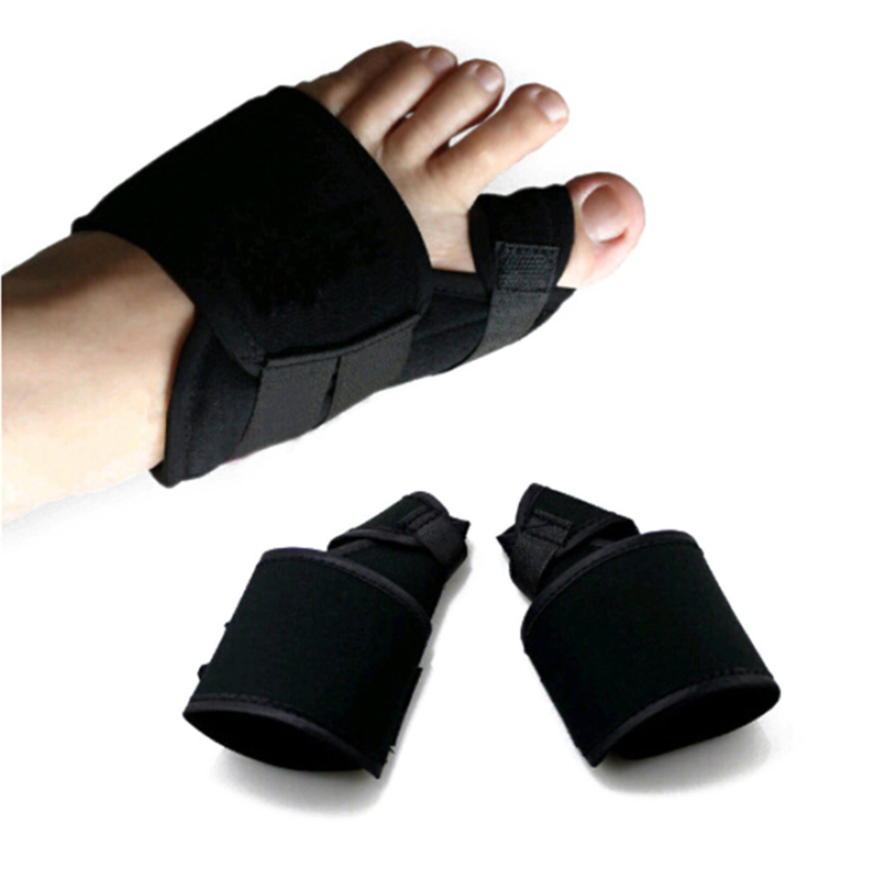 Soft Bunion Corrector Big Toe Hallux Valgus Straighteners Bunion Feet Care Thumb Adjuster Correction Bandage Pain Relieve 1 Pair
