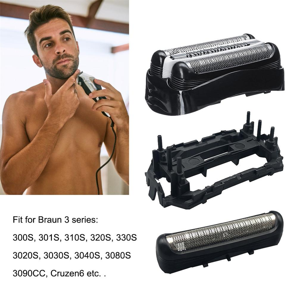 Shaver Replacement Head Razor Accessories Compatible With Models 3000s, 3010s, 3040s, 3050cc, 3070cc, 3080s, 3090cc For Braun Se
