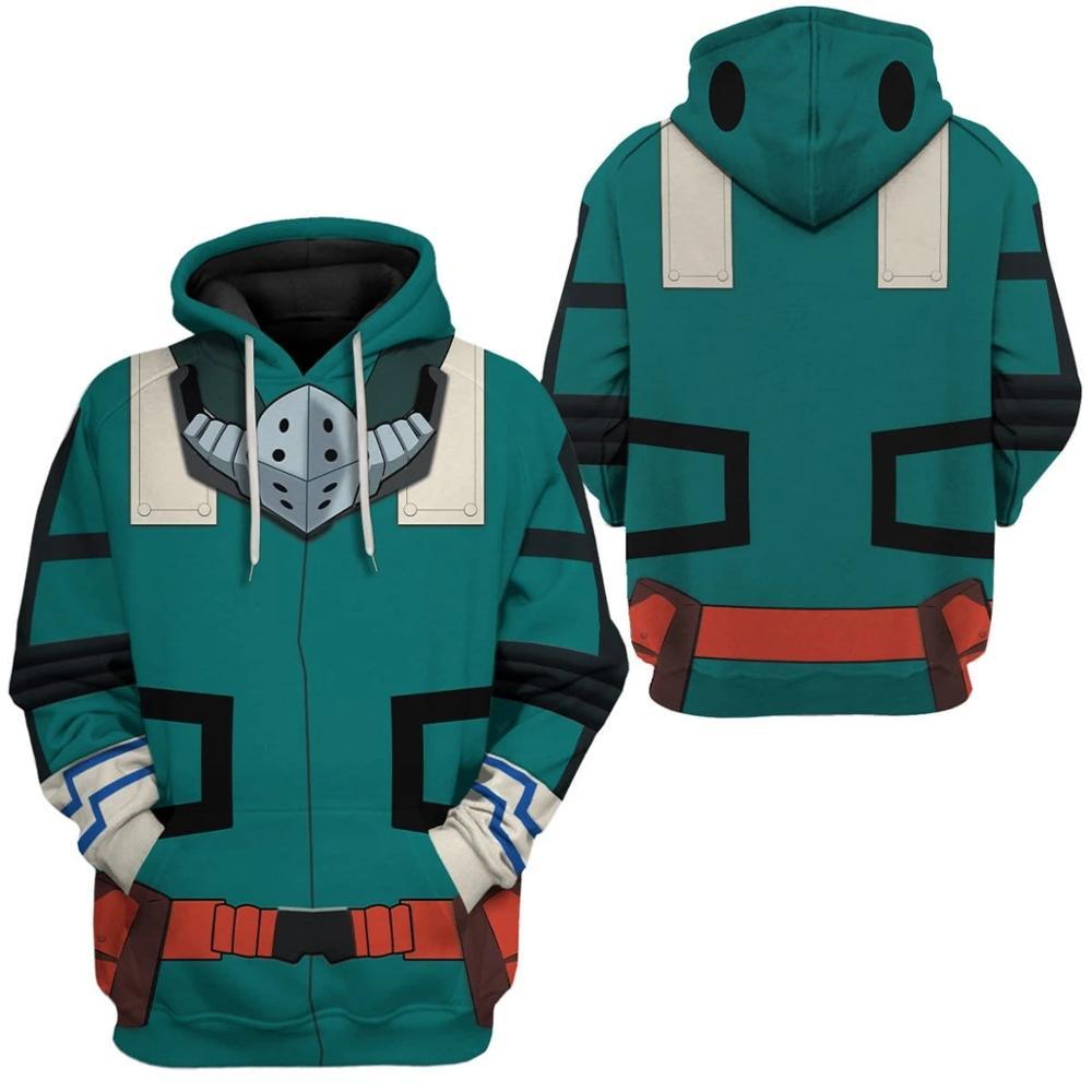 PLstar Cosmos Printed  My Hero Academia Izuku 3d hoodies/Sweatshirt Winter autumn funny Harajuku Long sleeve streetwear pullover