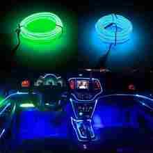 Automobil Dekorative LED Atmosphäre Kalt Licht Im Auto Atmosphäre Lampe Umgerüstet Licht Linie 360 Grad Beleuchtung