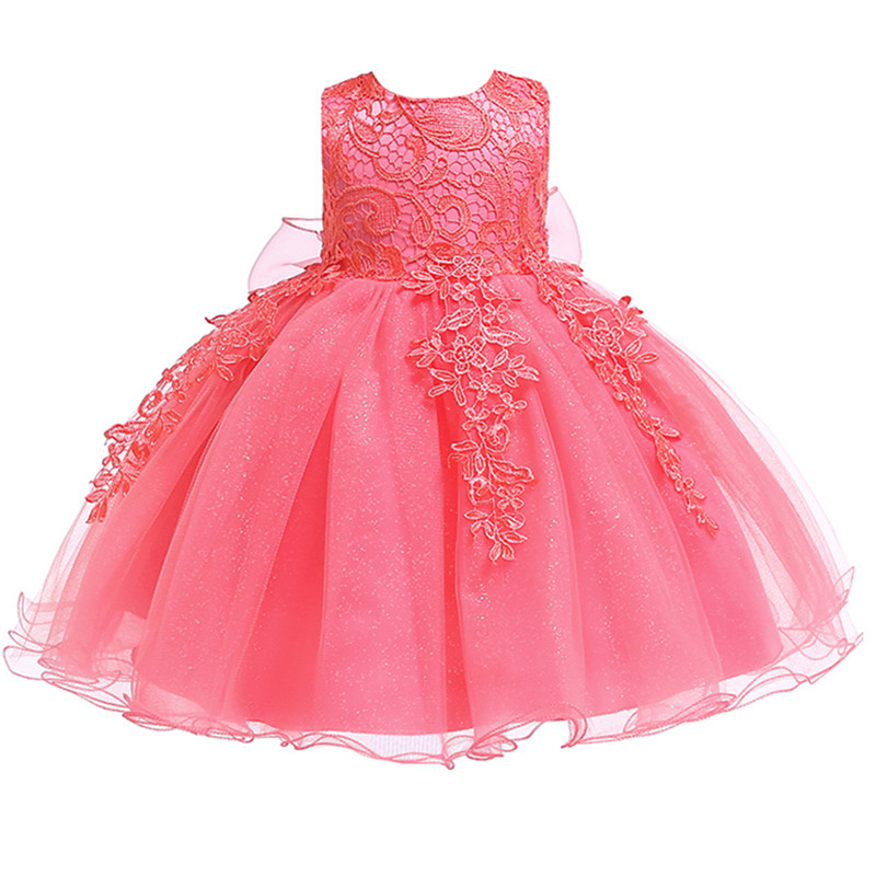 H4f2b2ff44df246f5985672a99e5a8956h 2019 Kids Tutu Birthday Princess Party Dress for Girls Infant Lace Children Bridesmaid Elegant Dress for Girl baby Girls Clothes