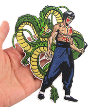K1083 Dragon Ball Z Sticker for Clothing Applications Patches on Clothes Iron Embroidered Patch for Backpack Handbag Badge zotoone anatomical heart stripe badge embroidery patches for backpack stickers on clothes clothing iron on tactical patches diy