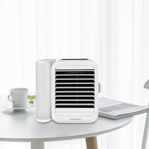 Image 3 - Youpin 1000Ml Capaciteit Mini Usb poort Draagbare Airconditioner Touch Screen 99 Speed Aanpassing Energiebesparende Ventilator Koeling
