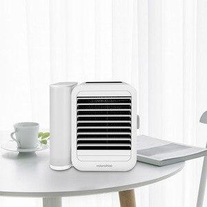 Image 3 - Youpin 1000ml capacité mini port USB portable climatiseur écran tactile 99 réglage de la vitesse économie dénergie ventilateur refroidissement
