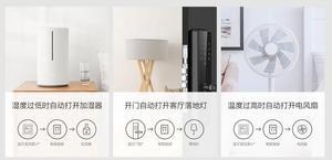 Image 5 - Xiaomi Mi Mijia Smart Socket 2 versione Gateway Bluetooth interruttori Wireless Timer Plug funziona con APP WiFi Mi home Mijia App
