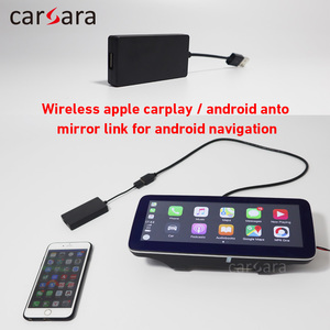 carsara wireless apple Carplay Dongle adapter for Android Navigation touch screen multimedia player
