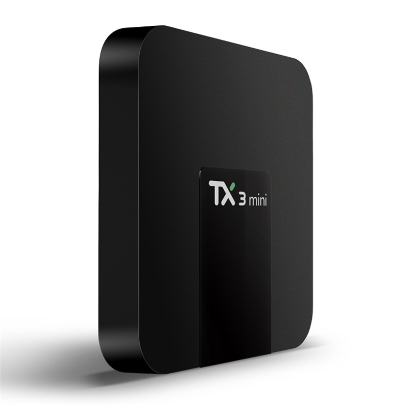 TX3 Mini Smart TV Box Android 7 1 Amlogic S905W 1GB 8GB 2GB 16GB Support 4K HD H 265 2 4GHz WiFi Media Player IPTV in Set top Boxes from Consumer Electronics
