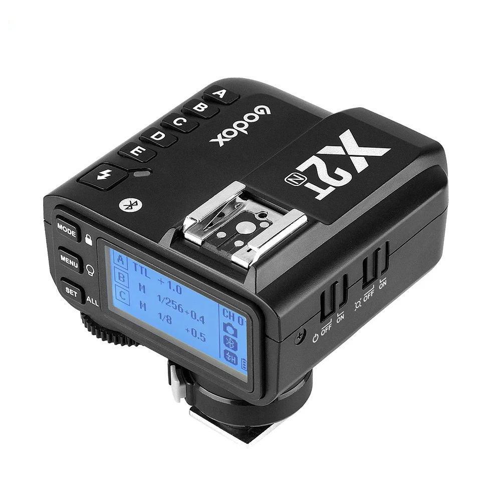 Вспышка-стробоскоп для Godox X2T-N I-TTL 2,4G Беспроводной триггер для вспышки триггера передатчика с TTL простой телефонный регулировки Функция для ...