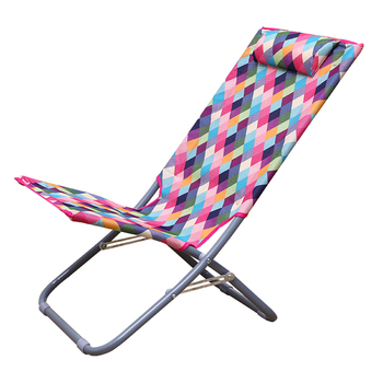 Small Recliner for Easy and Comfortable Home Folding Chair Balcony for A Cool Leisure Chair Office Lunch Break Chair