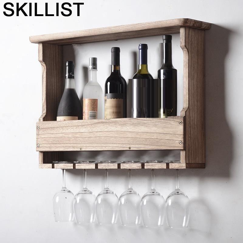 Shelves Sala Table Kitchen Mueble Hotel Gabinete Meble Mobili Per La Casa Salon Desk Commercial Bar Furniture Shelf Wine Cabinet