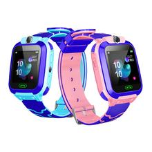 Q12B Waterproof Childrens Smart Watch Android Insert Card 2G Remote Positioning Camera Call Anti-lost Wristband For Kids