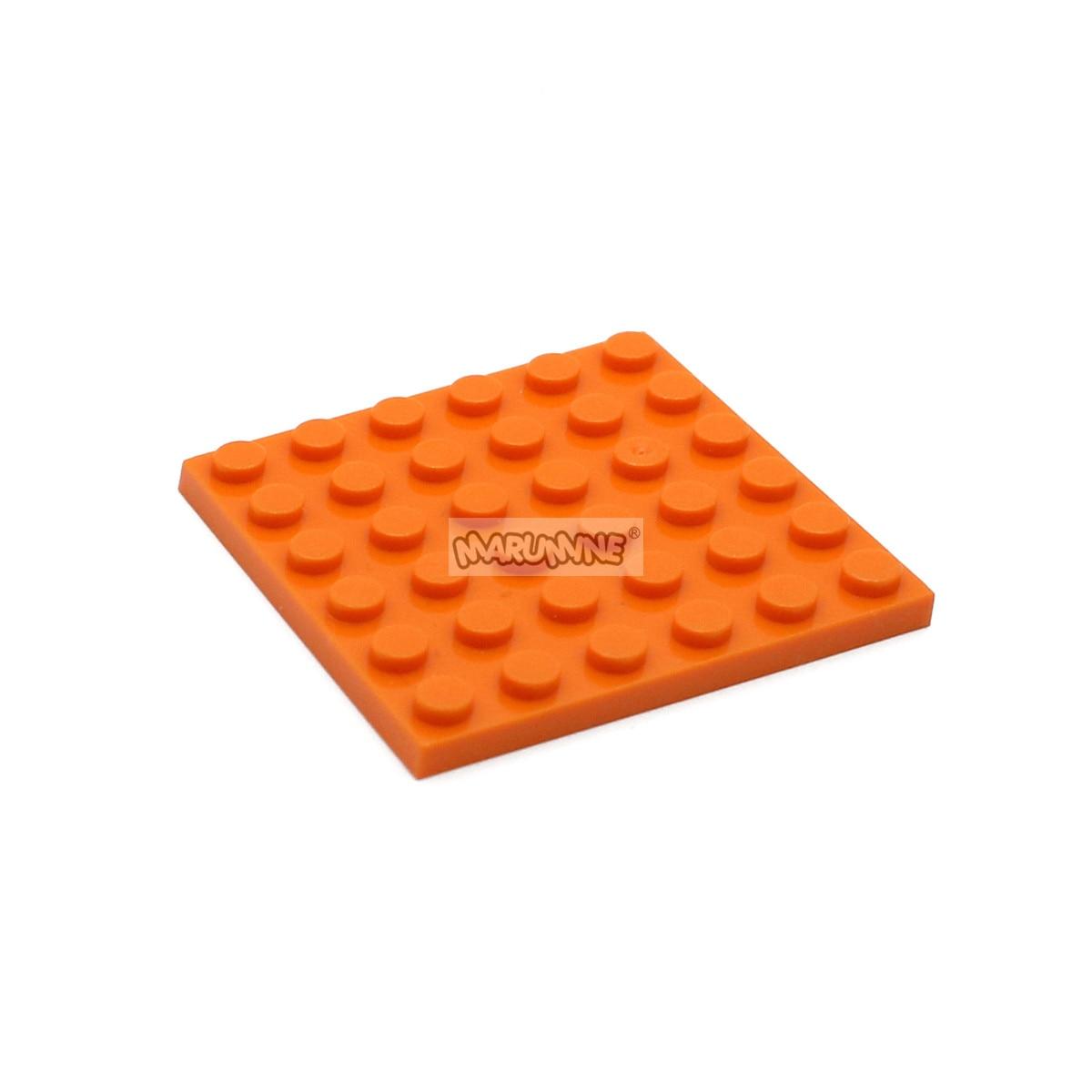 Lego 2 Tan 6x6 base plate NEW