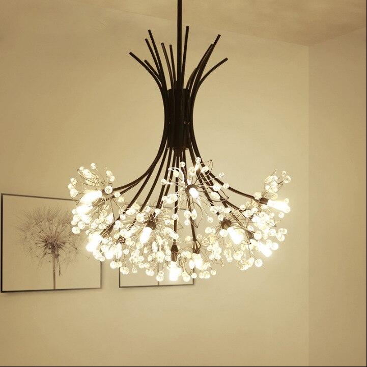 Işıklar ve Aydınlatma'ten Kolye ışıkları'de Modern kolye ışıkları cam küre ev dekorasyon E27 aydınlatma armatürü luminaria pendente title=