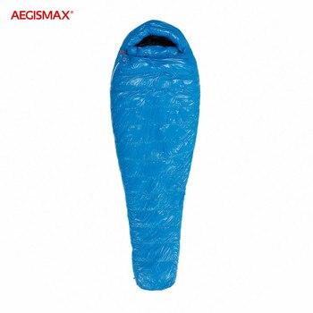 AEGISMAX G Outdoor Camping -22℉~-10℉ Sleeping Bag Winter 95% Goose Down FP800 Warm 15D Nylon Waterproof Sleeping Bag Comfort 2