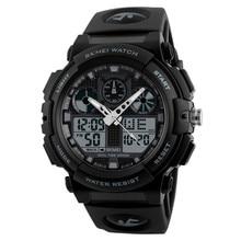 SKMEI Men Boy Watches LED Large Dial Digital Watch