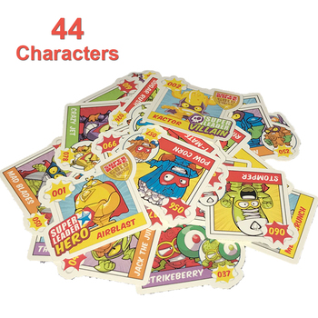 44 szt Bez powtórzeń SuperZings naklejki dla dzieci dzieci bawiących się zabawkami Super Zings Pegatinas do dekoracji strony tanie i dobre opinie 3 5cm super zings stickers superzings stickers