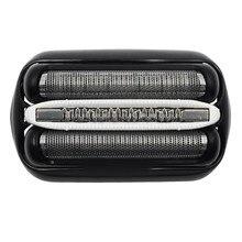 Substituição da cabeça de barbear para braun 32b series 301s 310s 320s 330s cabeça de substituição do cortador