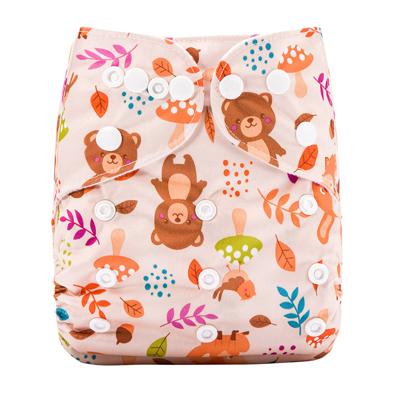 Oem Reusable Baby Dream Diaper Manufacturing Plant For Washable Baby Diaper Pants J30