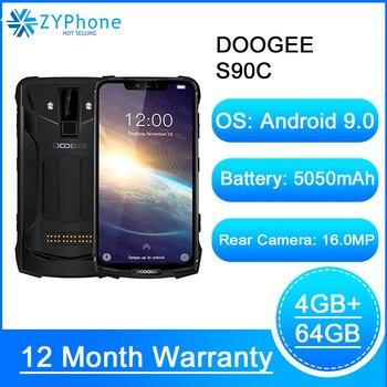 Перейти на Алиэкспресс и купить Модульный усиленный мобильный телефон Doogee S90C, экран IP68 6,18 дюйма, Восьмиядерный процессор Helio P70, 4 Гб 64 ГБ, 5050 мАч, 16 МП, 8 Мп, Android 9,0, 12 В, 2 А
