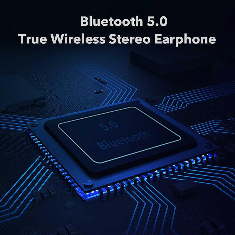 Mifa x8 tws fones de ouvido sem fio bluetooth controle toque estéreo sem fio para iphone telefone inteligente com caixa carregamento