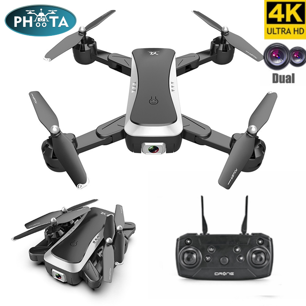 S36 drones with camera hd drone 4k quadrocopter optical flow Positioning  mini pocket drone Follow me Gesture photo video Dron