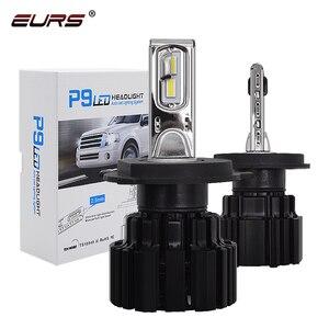 Image 1 - Ampoule pour phares de voiture, ers P9 LED H4 H7 LED, 100W Hi/Lo, faisceau H11 H8 H9 HB4 Auto phare LED H13 D2S D4S HID 13600LM