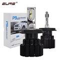 EURS P9 светодиодный H4 H7 светодиодный автомобилей головной светильник лампы 100 Вт Hi/короче спереди и длиннее сзади) луч H11 H8 H9 HB4 авто светодиодн...