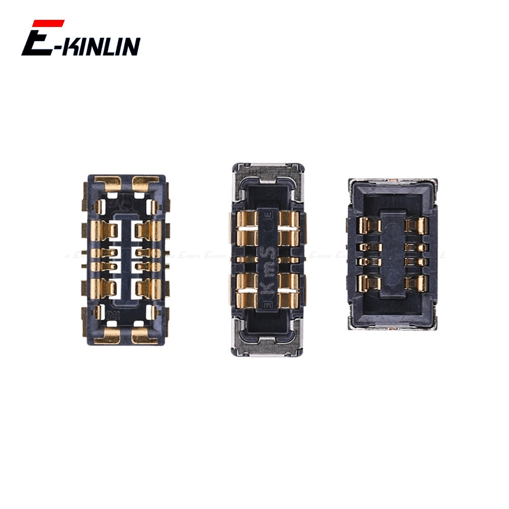 2PCS Inner PFC Battery Connector Clip Contact Repair Parts For Xiaomi Mi 5C 5S Plus F1 8 9 SE A2 Lite Redmi S2 6 6A On Board