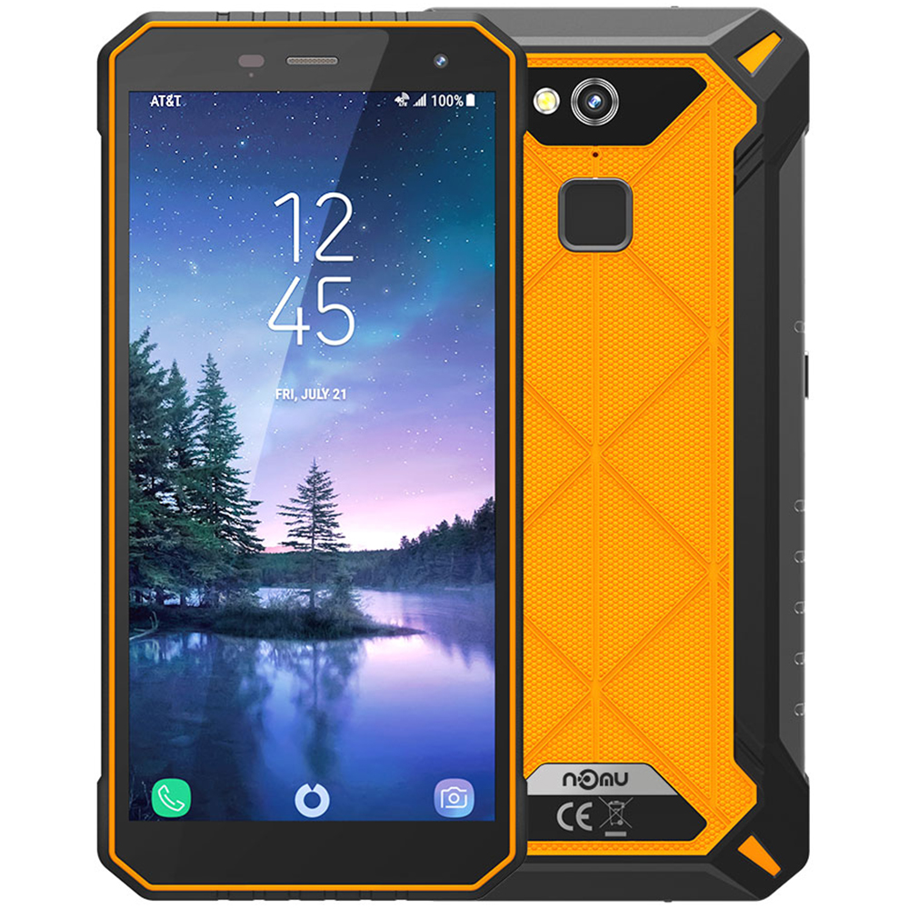 IP68 Waterproof NOMU S50 PRO 4G Smartphone 5.72'' Android 8.1 MTK6763 Octa-core 1.5GHz 4GB 64GB 16.0MP 5000mAh Type-C Cellphones