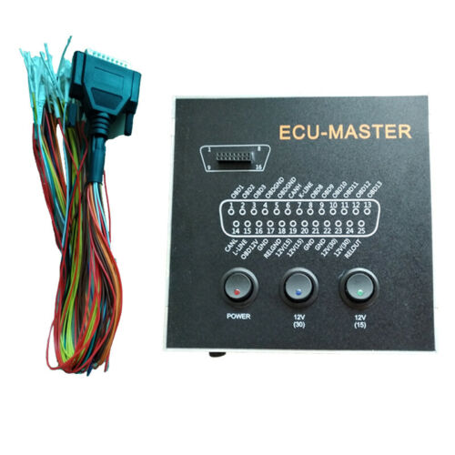ECU MASTER Connector Immo Off Repair Car Key Code Faults  Diagnostic Tool For Ktag Kess Programmer