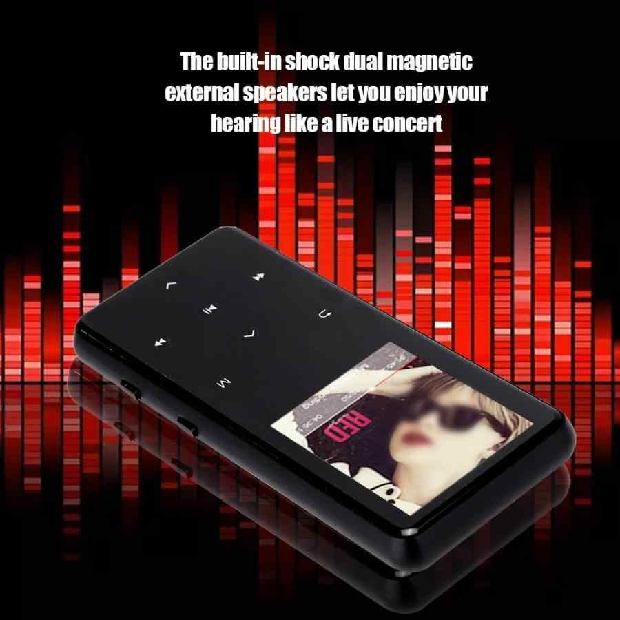 1,8 дюймов 128x160 пикселей сенсорный экран цифровой MP3 плеер без потерь HIFI MP4 музыкальный плеер Черный 4 ГБ 8 ГБ A-B функция чтения