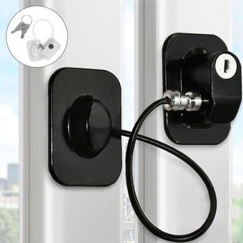 1 PC Window Lock Child Safety Lock Baby Protection Children From Being Hurt By Baby Lock Windows Door Cabinet Limiter Locks 1