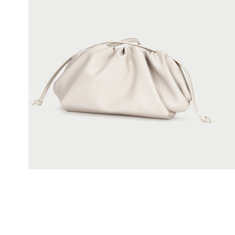 Beautiful Pearl White Color Women Shoulder bag Female Crossbody bag Brown&Black Color Messengerbag good and High Quality Leather