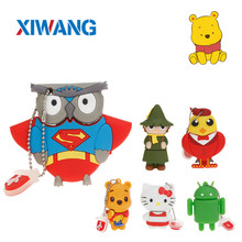 Speed cartoon owl usb flash drive 4GB 8GB 16GB 32GB 64GB portable USB 2.0 Pendrive mini notebook disk memory stick u